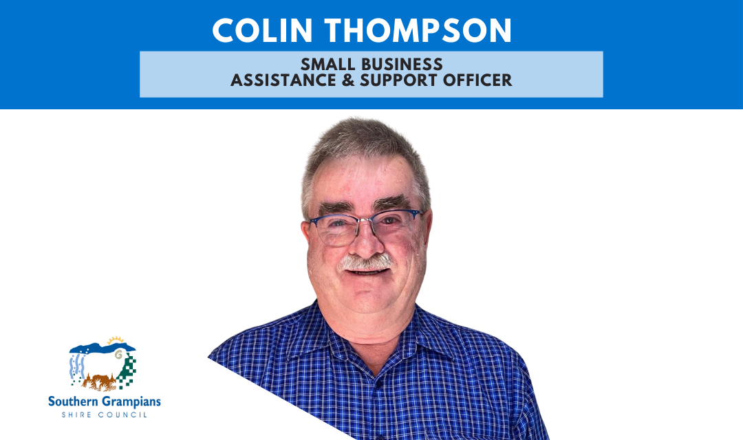 Free 1:1 Business Support with Colin Thompson